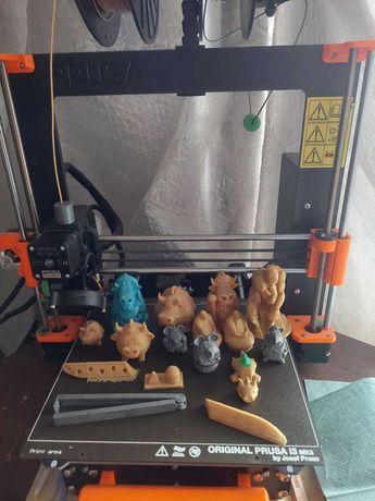 3Д печать пластиком и воском (3D print) на FDM принтере