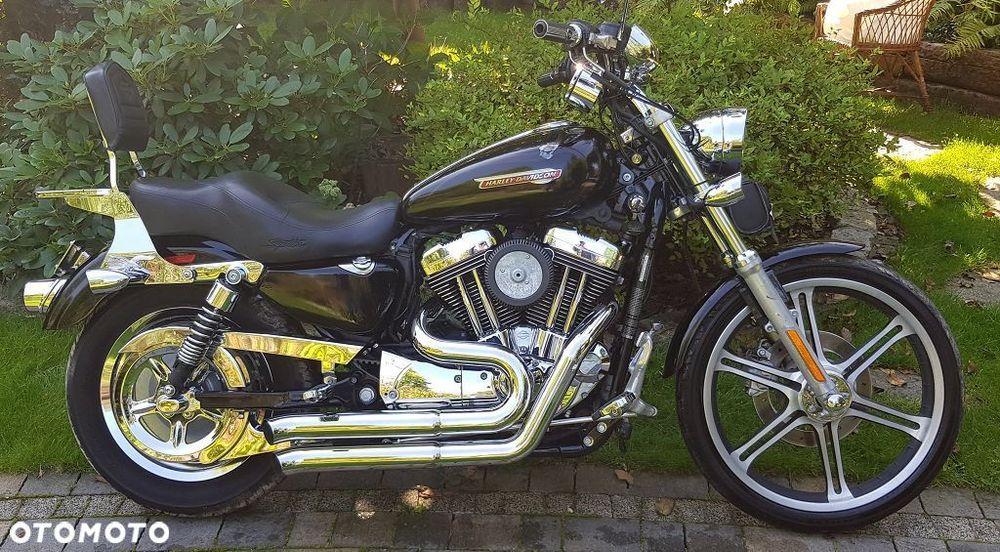 Harley-Davidson Sportster Xl1200 C Basowy Wydech Raty  Raty Тучне - зображення 1