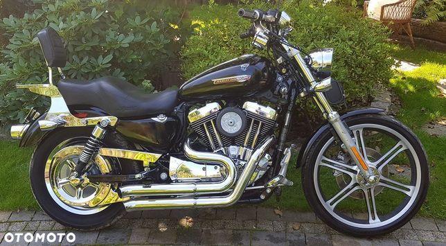 Harley-Davidson Sportster Xl1200 C Basowy Wydech Raty  Raty