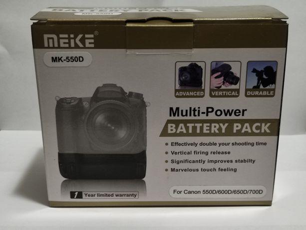 Батарейный блок (бустер) Meike MK-550D  для Canon 550D/600D/650D/700D