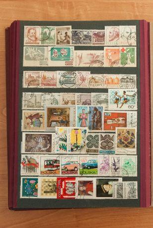 FILATELISTYKA - Znaczki pocztowe POLSKA (PRL) - 100 sztuk (każdy inny)