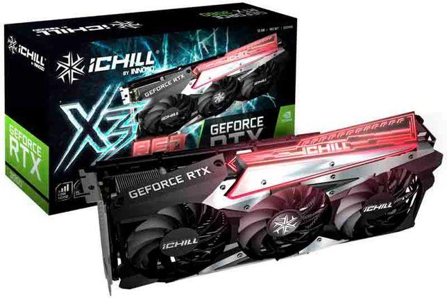 Inno3D GeForce® RTX 3060 iChill X3 Red 12GB GDDR6