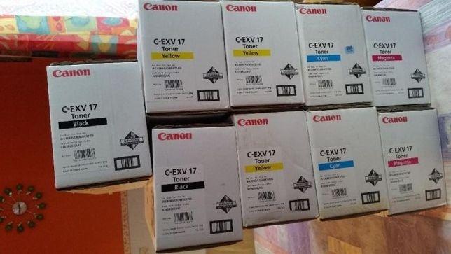 Canon C-EXV17-Tonery