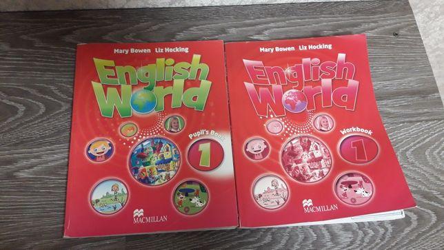 Набор книга,тетрадь, по английски 1,2,3,4 класс