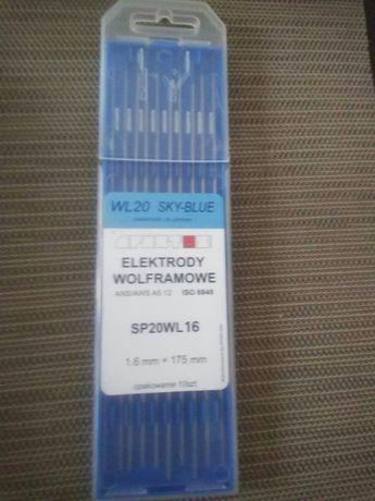 elektrody wolframowe TiG 1,6 niebieskie
