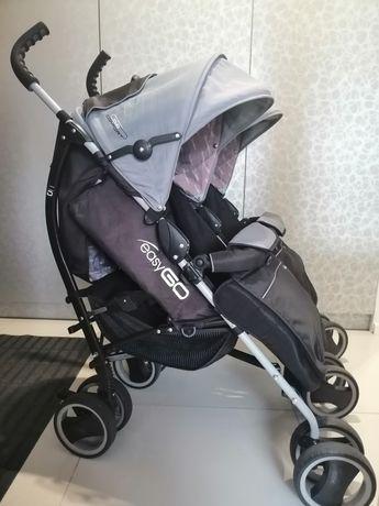 Wózek spacerówka dla bliźniaków
