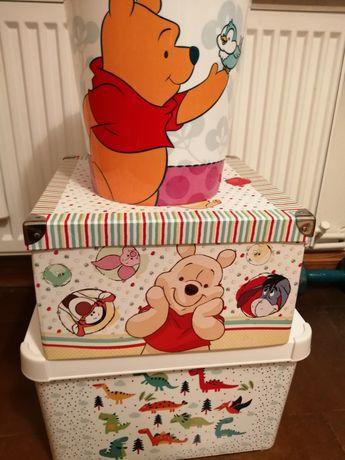pojemnik, pudełko, kosz na zabawki zestaw