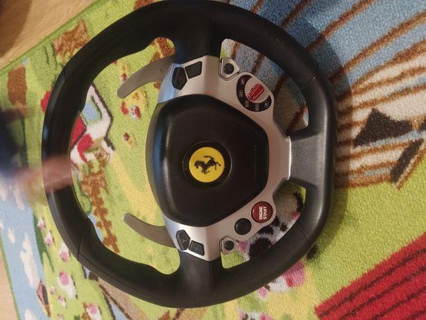 Kierownica Thrustmaster Ferrari Italia + Pedały do Xbox One