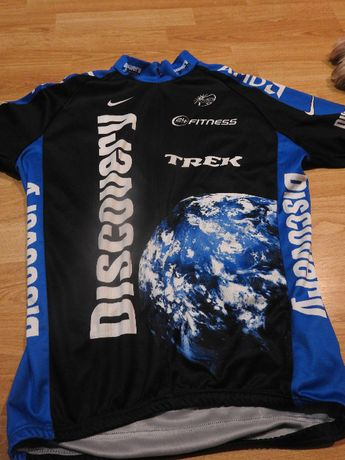 Koszulka rowerowa, kolarska Discovery Nike