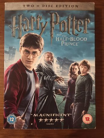 DVD Harry Potter And the-half blood prince