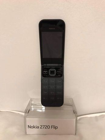 Nokia 2720 Flip NOWY - duże klawisze, z klapką, czarny