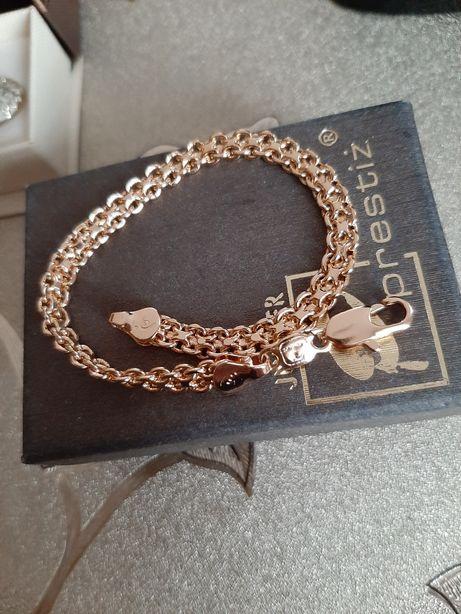 Złota pozłacana bransoletka