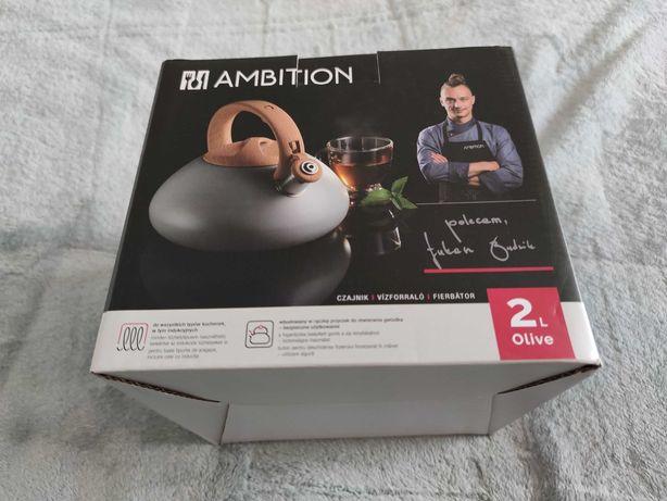 czajnik z gwizdkiem 2 l  Ambition indukcja