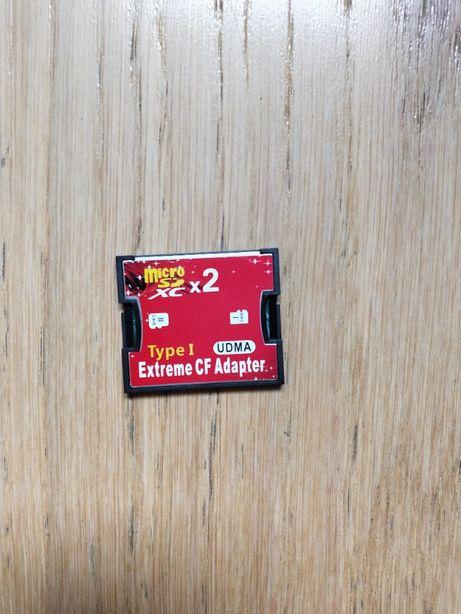 Adapter 2x MicroSD CF CompactFlash