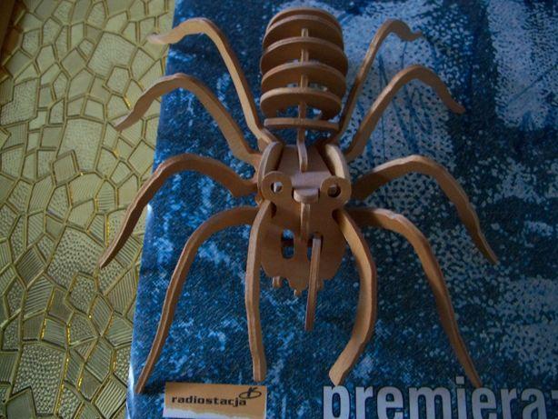 Drewniane PAJĄK Tarantula i MRÓWKA składane układanka CENA ZA CAŁOŚĆ