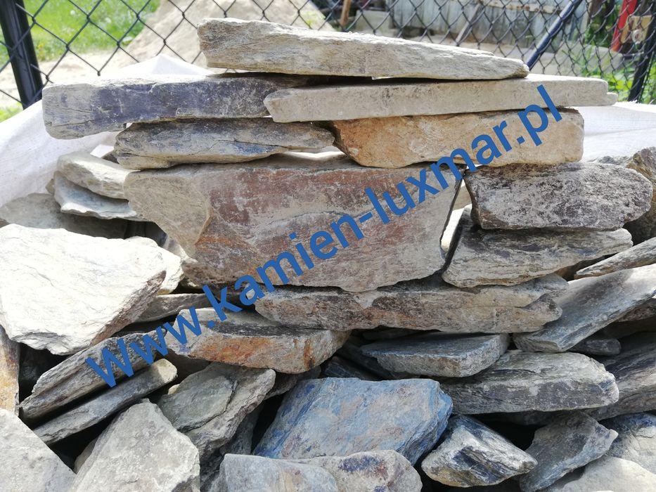 Kamień murowy/kamień do gabionow /lupek szaroglaz 60-150mm Radzymin - image 1