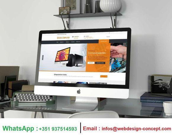 Criação de Sites PRO Para Empresas e Trabalhadores Independentes