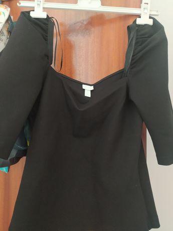 Camisola preta senhora H&M - tam s