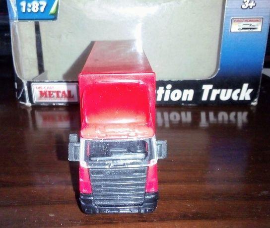 Miniatura camião Scania