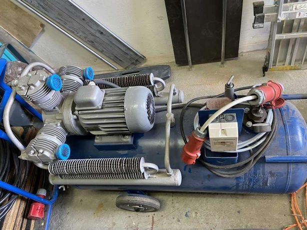 Sprężarka ASPA 3jw60 po remoncie