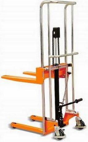 Empilhador stacker monta-cargas porta-paletes manual elevação até 1,20