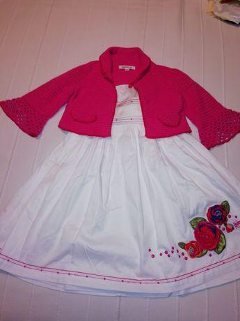 Vestido de menina KENZO com bolero a condizer