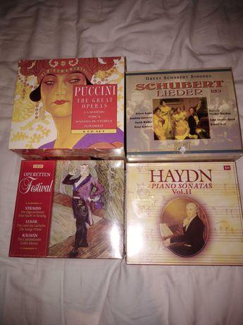 Płyty CD Haydn, Puccini, Schubert, Strauss, Lehar, Kalman