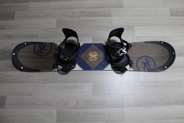 Deska Snowboard ROSSIGNOL EXP 130 cm + Wiązania SP Star