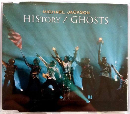 CDs Michael Jackson History / Ghosts 1997r