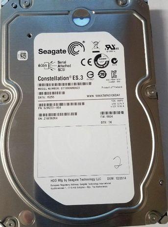 Disco SAS 1tb ,SEAGATE castellation ST1000NM0023 -NOVO