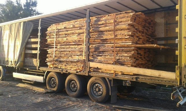 Лесоматериалы, необрезная доска для мебельной заготовки, 40мм.