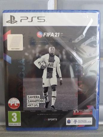 Fifa 21 edycja nxt lvl ps5 nowe folia!!!