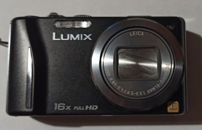 Aparat Panasonic Lumix DMC-TZ20 z GPS