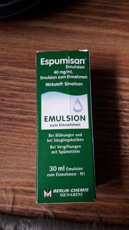 Krople Espumisan + butelka