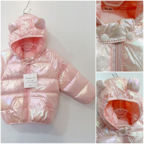 Демисезонная куртка для девочек р. 86 -122