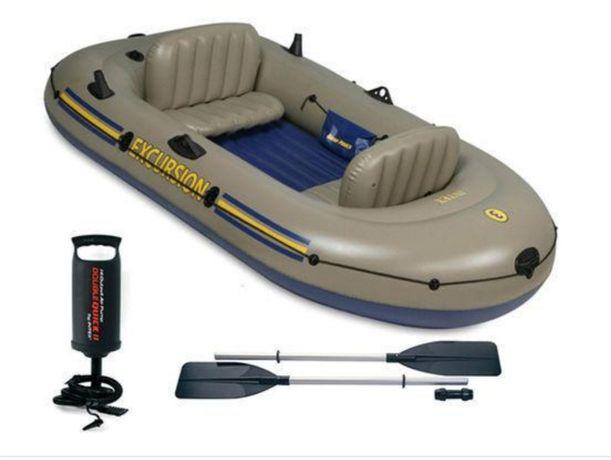 Надувная лодка на 3 человека