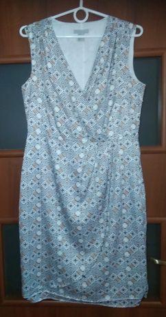 Wzorzysta sukienka rozmiar 40