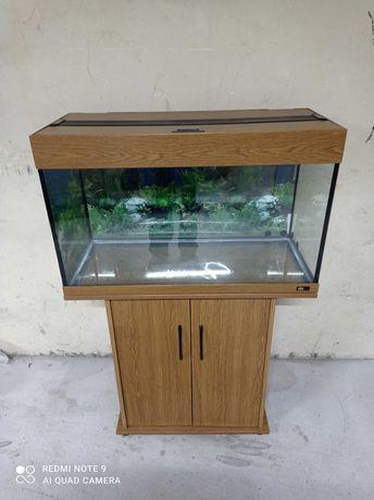 akwarium Juwel, zestaw z szafką, komplet , bardzo dobry stan,warto