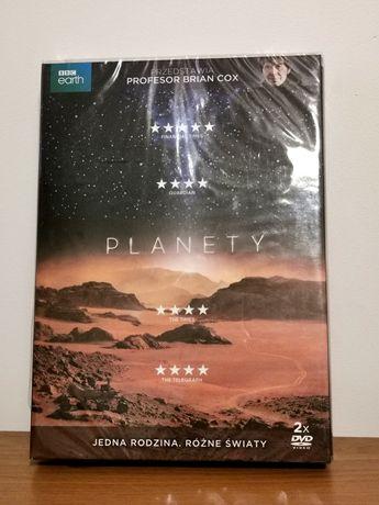"""Film dokumentalny 2DVD """"Planety"""" nowy"""