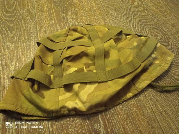 Защитный военный шлем. Подшлемник