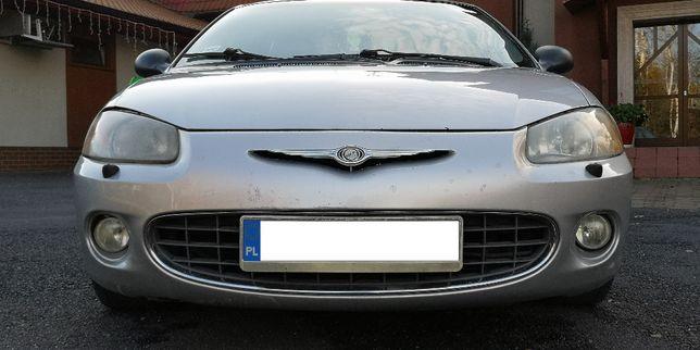 Chrysler Sebring II*2.0i16V*141KM*2002r*Sekwencja*Klimatyzacja*Skóry*