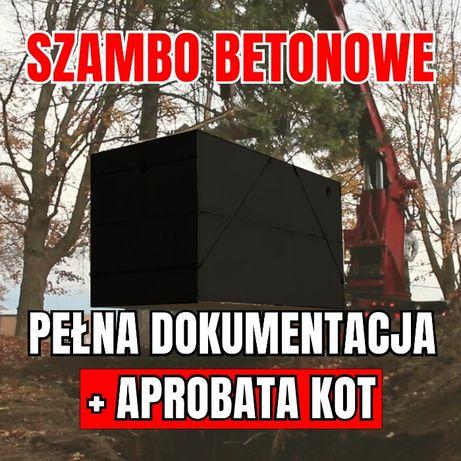 Szambo Betonowe Zbiornik Betonowy na Deszczówkę 100% SZCZELNY
