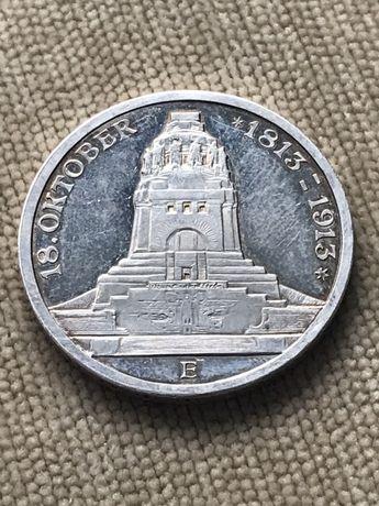 3 марки 1913 года зеркальные