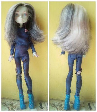 Куколка Монстер хай/Monster High ООАК Френки Штейн, Амонг Ас/Among Us