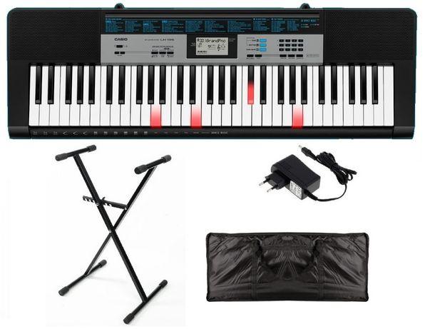 Keyboard Casio LK136 + statyw zasilacz pokrowiec NOWY WYSYŁKA w cenie