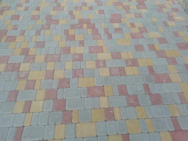 Укладка тротуарної плитки Рубченки