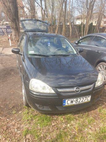 Opel corsa C benzyna-gaz