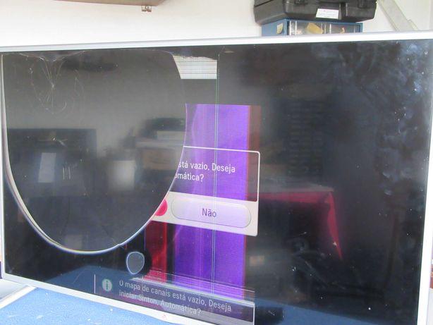 LCD com display partido