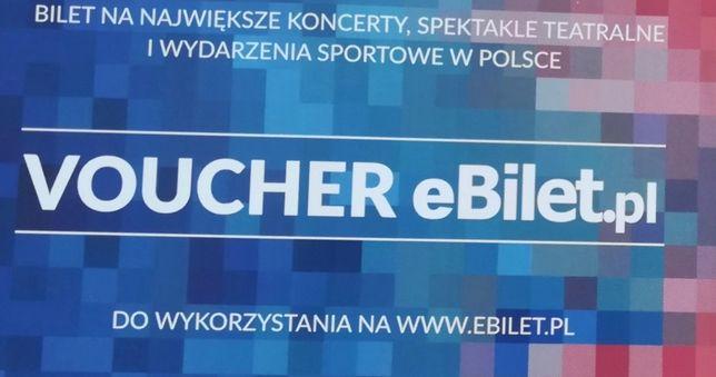 ebilet.pl - voucher - 100 zł