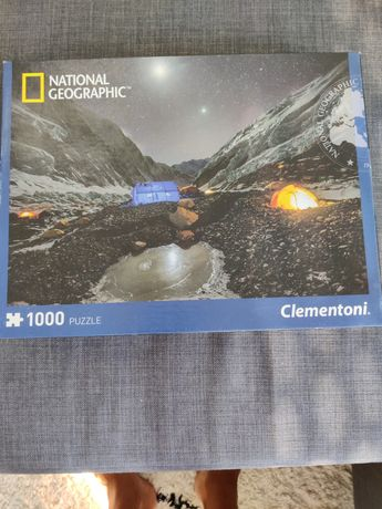 Puzzle National Geographic 1000 peças clementoni
